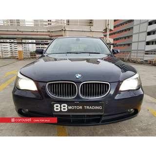 BMW 5 Series 523i (COE till 10/2021)