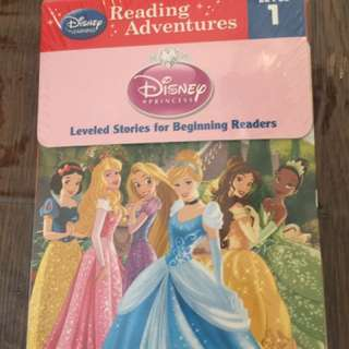 Reading Adventures Disney Princess Level 1