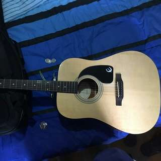 Epiphone DR-100 with GUITAR CASE