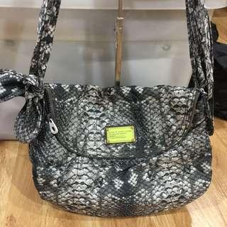 marc jacobs animal print hobo bag