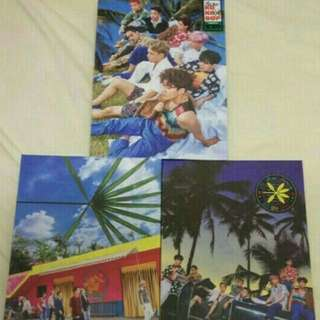 EXO kokobop the war (with/without Kai card) 可連kai小卡