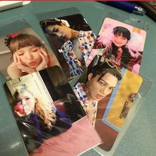 Album card 小卡 (red velvet/exo)