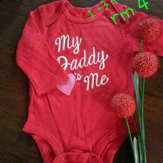 baju baby 1-3 m