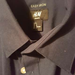 H&M slim fit business shirt
