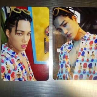 Exo kokobop Kai card (cool condition)