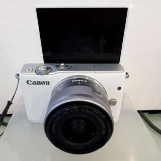 Kamera Canon Eos M10 Mirorless MURAH (Kredit DP 0%)