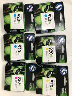 HP 920XL  high yield original ink cartridge(已過期)