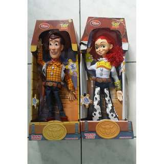 Toy Story Woody and Jessie Talking Doll