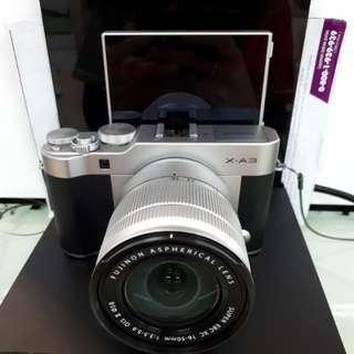 Kamera FujiFilm X-A3 Cash Back 1Juta FREE Instax Mini