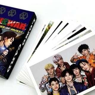 EXO LOMO CARDS