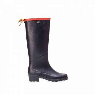 AIGLE MISS JULIETTEA 女裝橡膠靴 (海軍藍/紅)