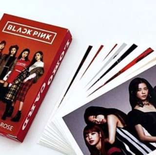 BLACKPINK LOMO CARDS