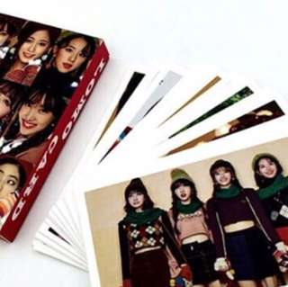 TWICE LOMO CARDS