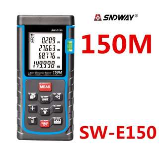 SNDWAY SWE150 150m Digital Laser Distance Meter Level Rangefinder