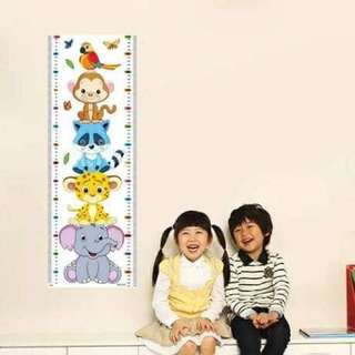 Kid's height Wall Sticker