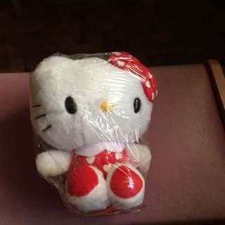 Hello Kitty stuffed toy for car