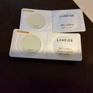 Laneige BB Cushion along with the case