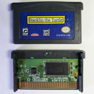 Franklin The Turtle (Gameboy  Advance SP) AUTHENTIC
