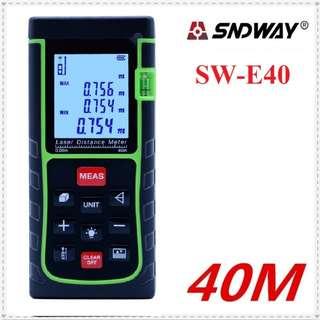 SndWay SW-E40 40m Meter Digital Laser Distance Level Rangefinder