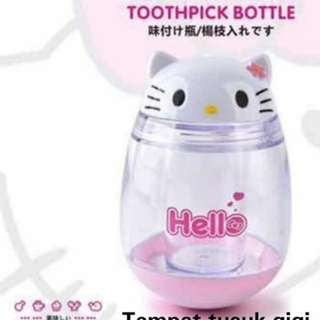 Tempat tusuk gigi Hellokitty