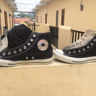 Converse chuck taylor Hi black and white