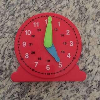 Heguru clock