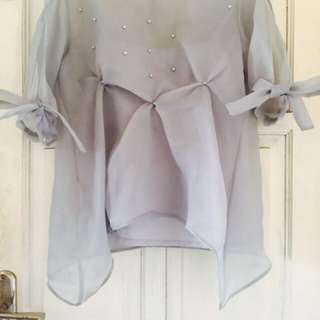 Haura Organza (Grey)