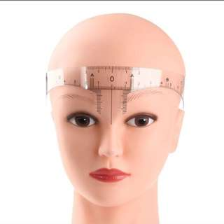 Eyebrow Embroidery Measuring Ruler Tool