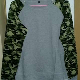 Camu Long sleeves Imported Tshirt Size L