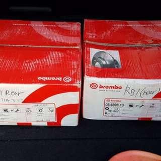 Rb1 brembo rear roto