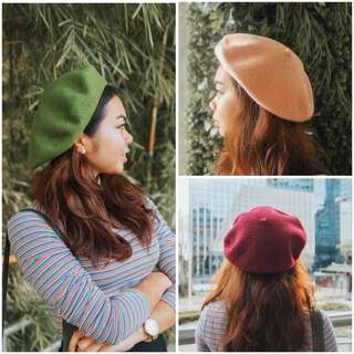 BERET HAT - ON HAND - HQ