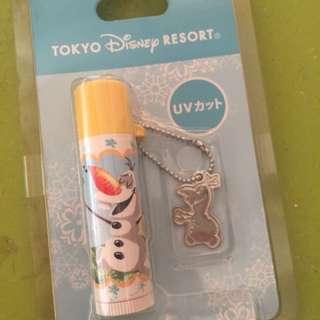 小白 olaf 潤唇膏 護唇膏 日本迪士尼 冰雪奇緣 frozen