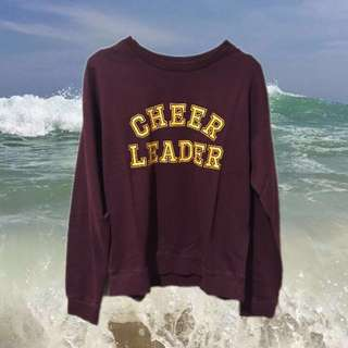 Cheer leader sweater