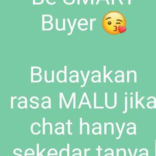 Be SMART buyer ya girls😚
