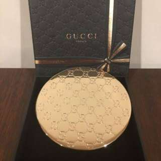 GUCCI Flora Garden- Compact Perfume Make-Up POCKET MIRROR in BOX -Authentic NEW