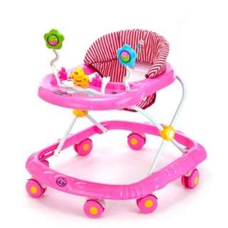 Free delivery baby walker (Pink)