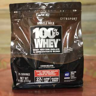 Cytosport 100% Whey Protein 6lbs Chocolate