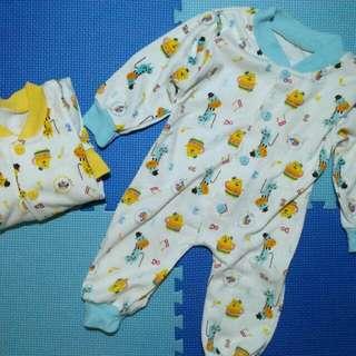 Sleepsuit Libby 2Pcs for NB - 4m