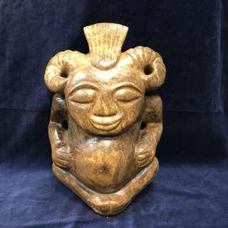 岫岩玉神像 26.7kg 重