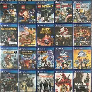 PS4 Games updated