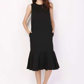 A for Arcade- Malone Drop Hem Dress (Size M)