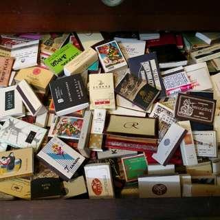 超過一百盒火柴
