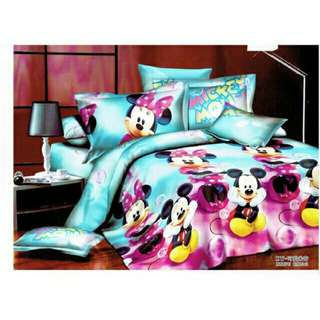 5D 4in1 Single Size Bedsheet