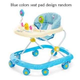 FREE DELIVERY BABY WALKER (BLUE)