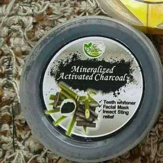 Mineralized Activated Charcoal