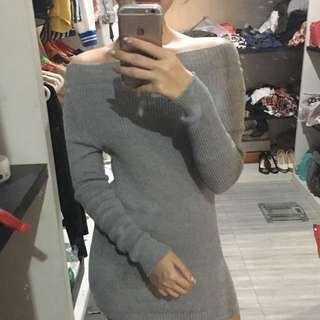 Sabrina Knit Dress (grey)