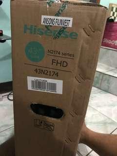 """BRAND NEW!HISENSE 43"""" LED TV"""