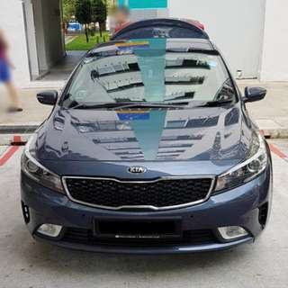 Installation Of Invisible Car Door Bumper Guard Protector Done On Kia Forte K3