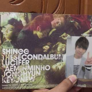 SHINee Lucifer Album with Jonghyun PC