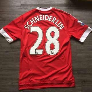 Adidas 英超 曼聯波衫 舒拉達連 Manchester United schneiderlin
